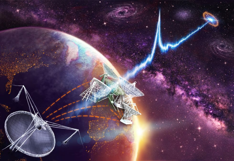 Astronomers Discover the Source of Mystery Radio Waves from Deep Space