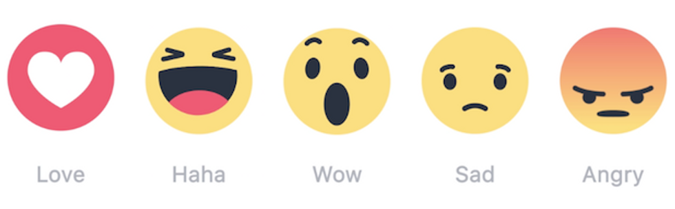 Our Facebook Reactions May Not Coincide with How We Truly Feel