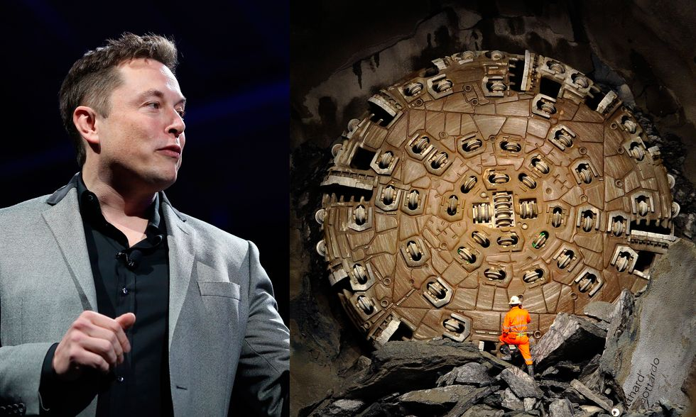 Elon Musk Reveals a Mystery Tunneling Project