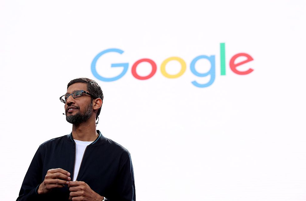 Sundar Pichai, the Indian-born American CEO of Google (Credit: Getty Images)