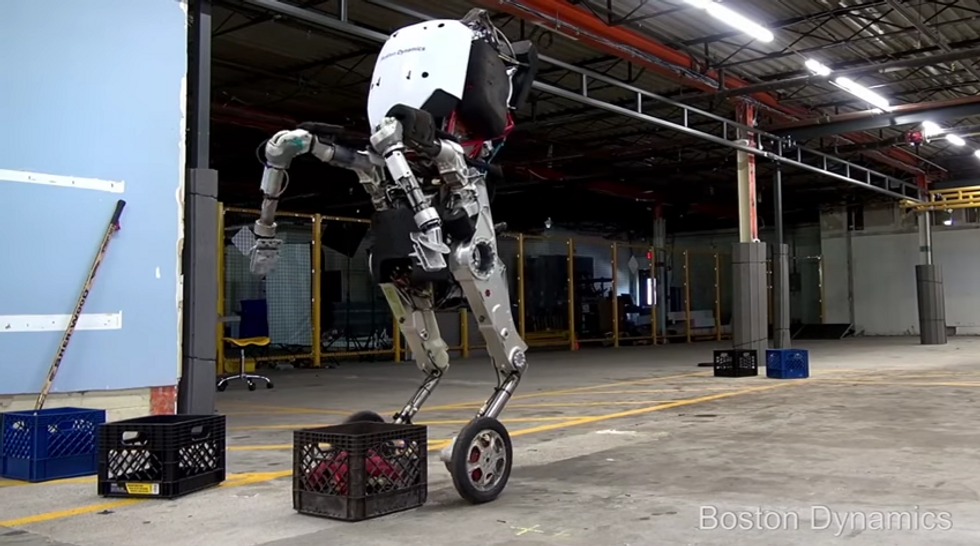 """Boston Dynamics' screenshot, from the video """"Introducing Handle"""""""