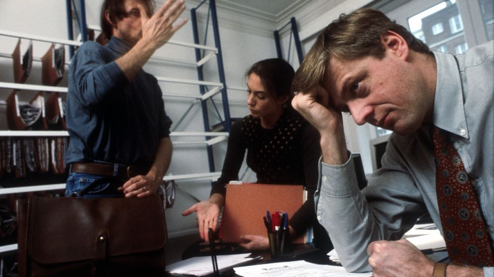 One-third of American workers report being less productive at work since the election (Photo from Hulton Archive/Getty Images)
