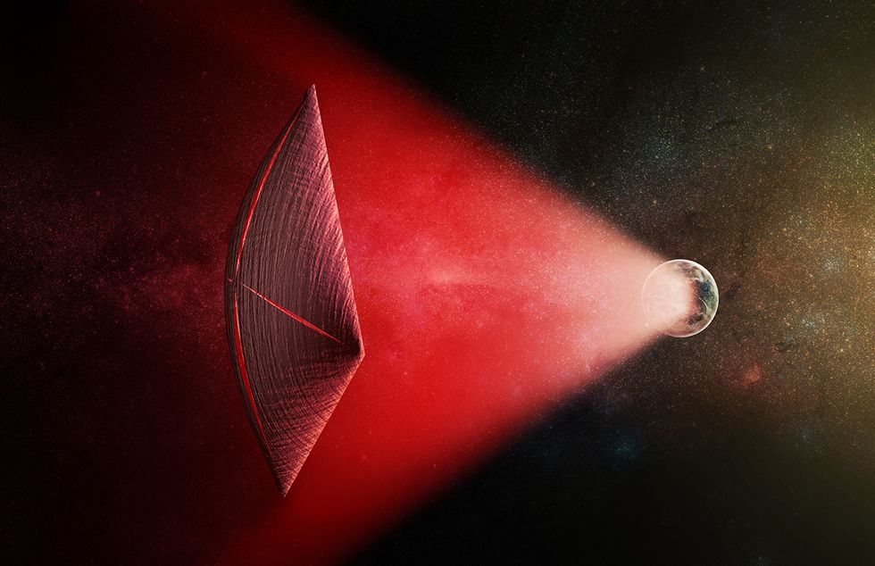Enigmatic Deep Space Flashes Could Be Powering Alien Spaceships, Say Harvard Scientists