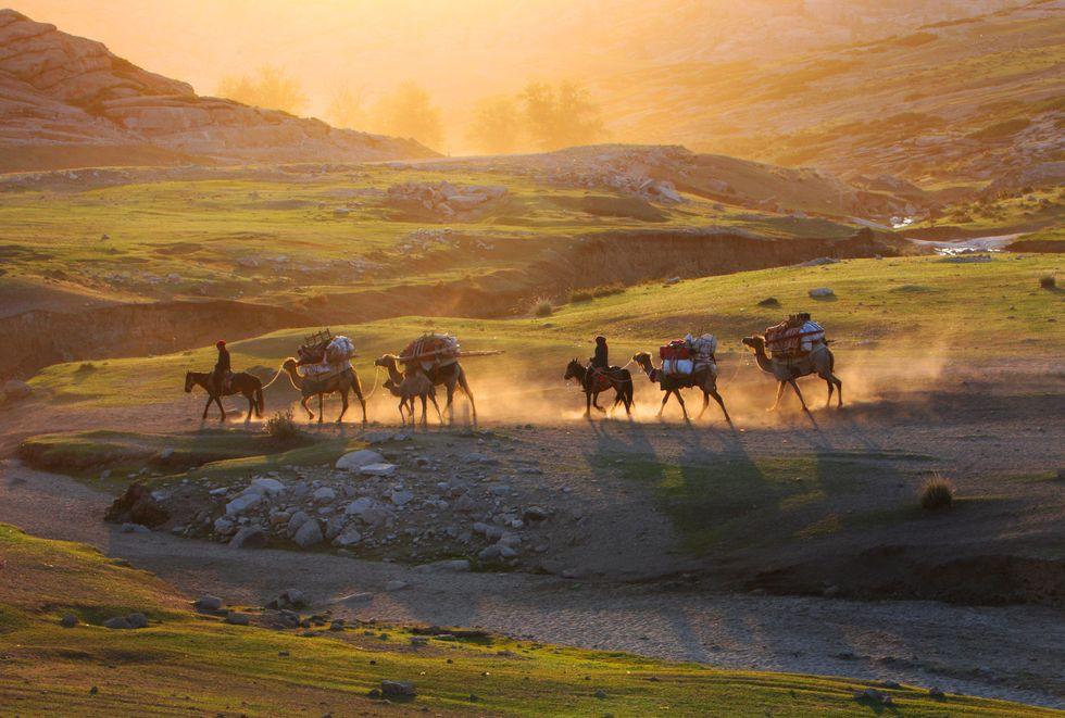 Kazakh Nomads.
