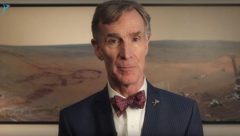 Bill Nye, CEO of The Planetary Society