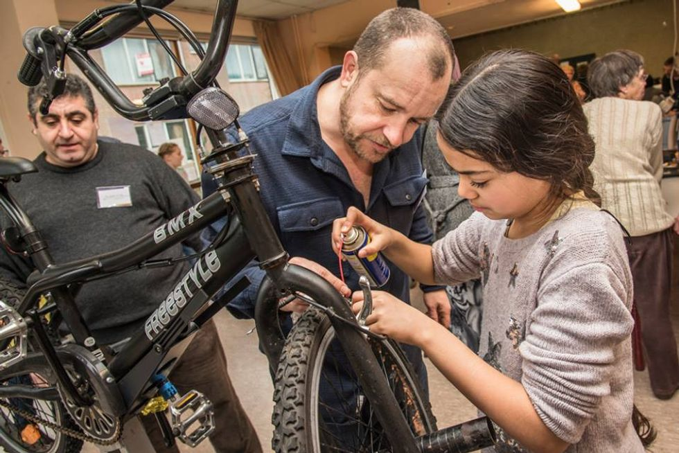 Credits: Martin Waalboer / Repair Café International Foundation