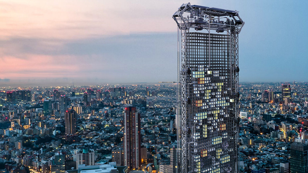 This Skyscraper Would Dispense Apartments Like A Vending Machine