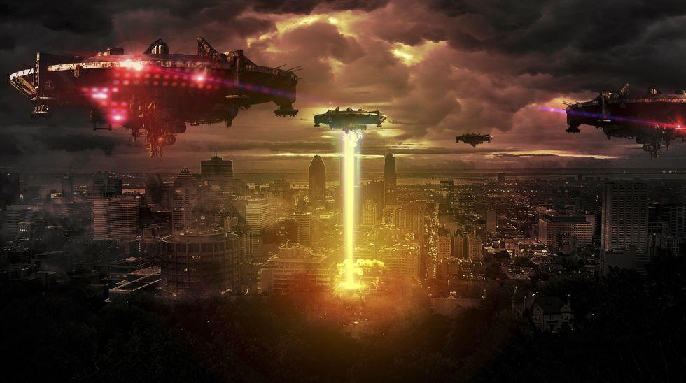 Alien Invasion.