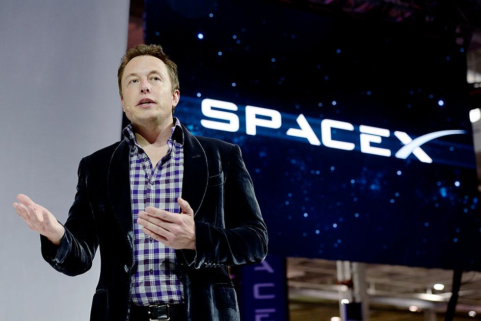 Elon Musk, CEO of SpaceX (Credit: Getty Images)
