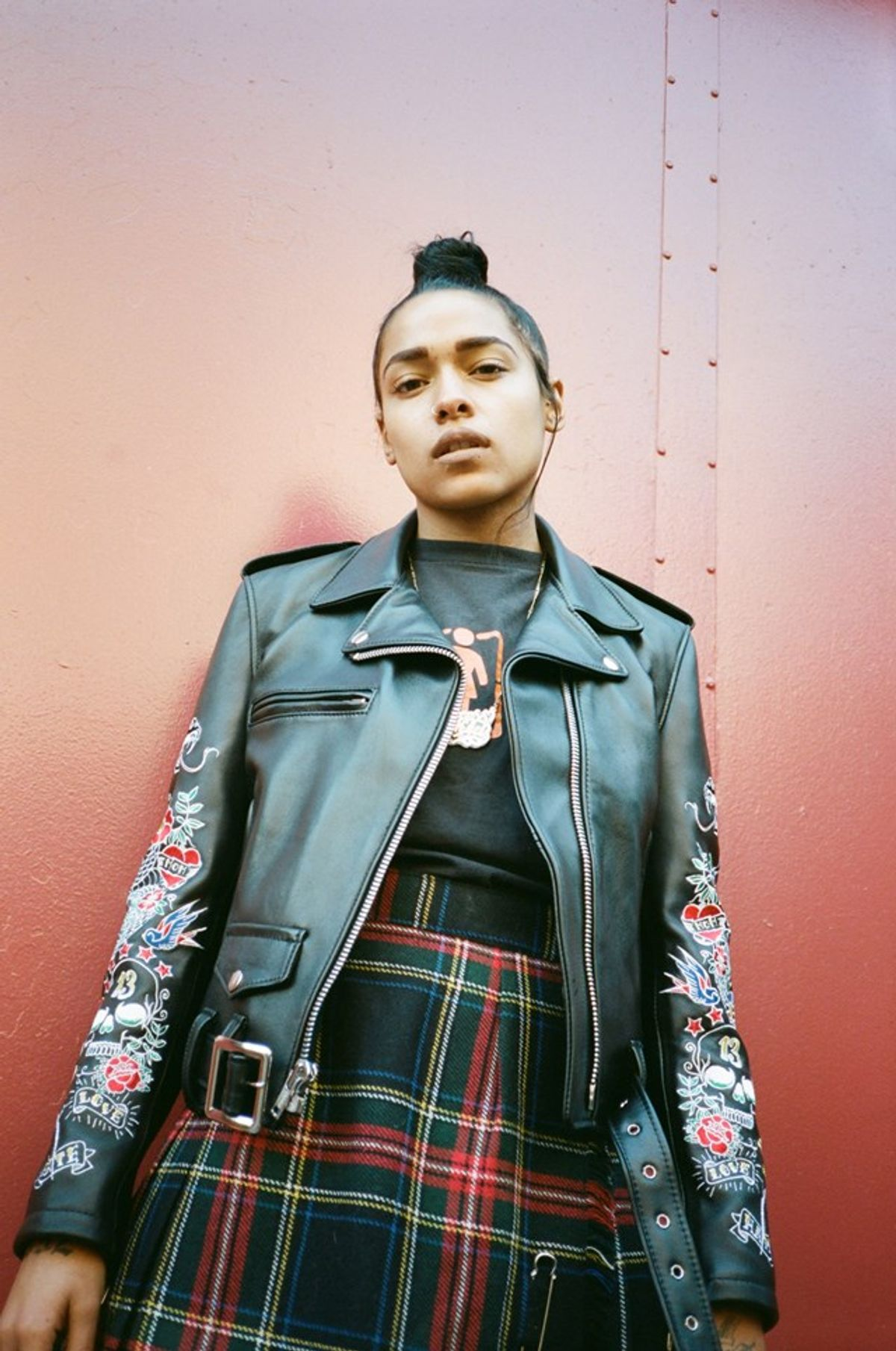 Princess Nokia Is The Streetwear Star For MadeMe x Schott's Collab
