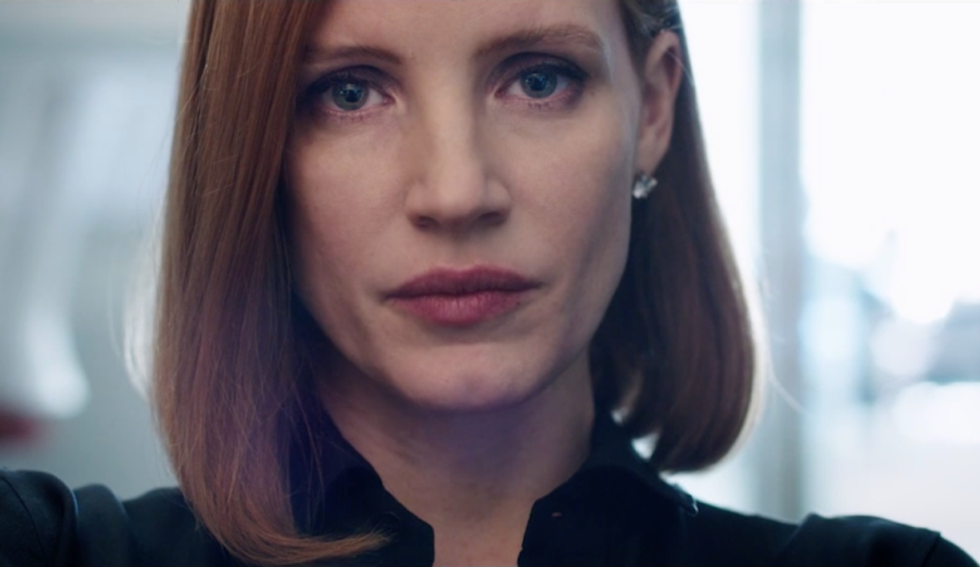 Jessica Chastain Takes On The Gun Lobby In The 'Miss Sloane' Trailer