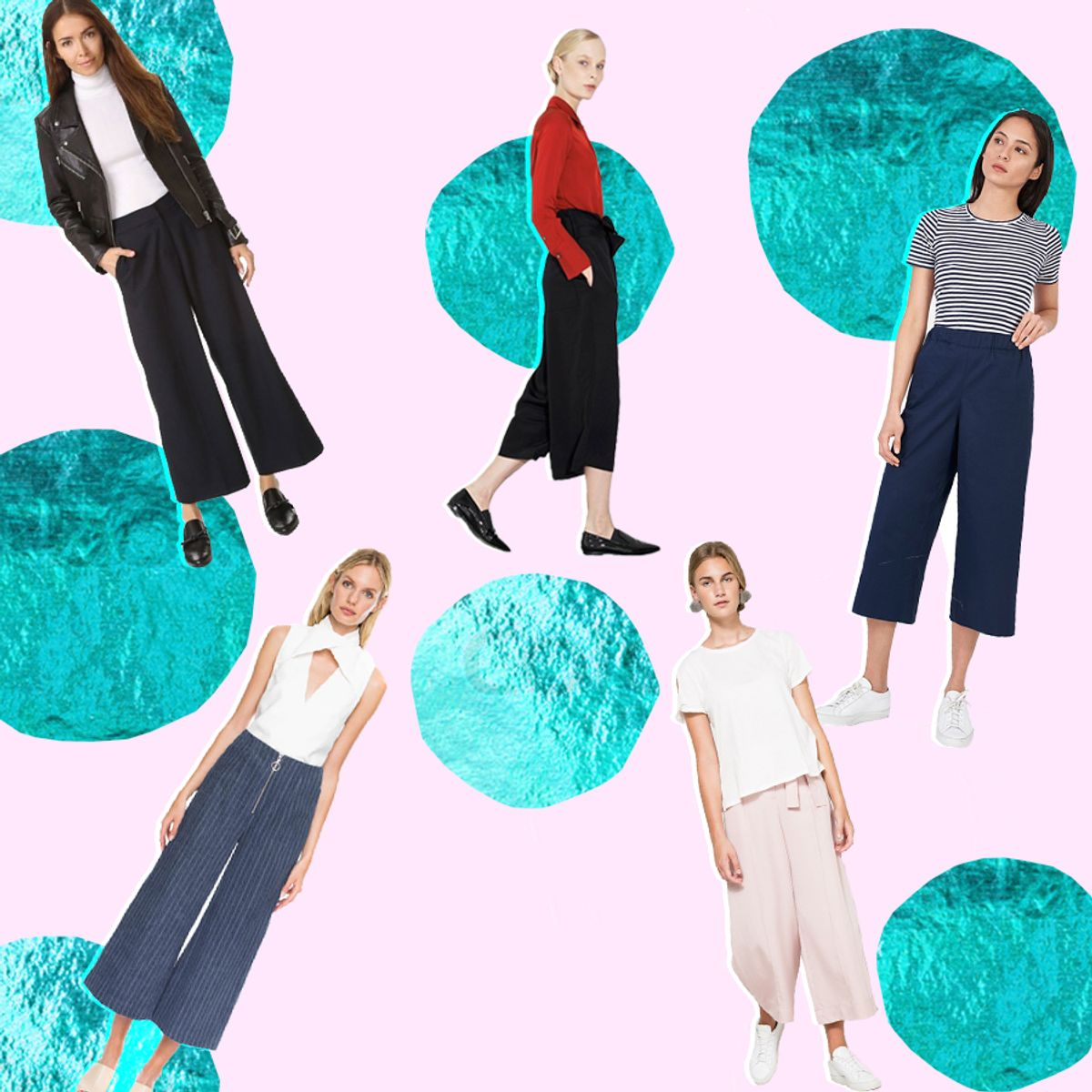 15 Fall Culottes That Prove The Trend Is Here To Stay