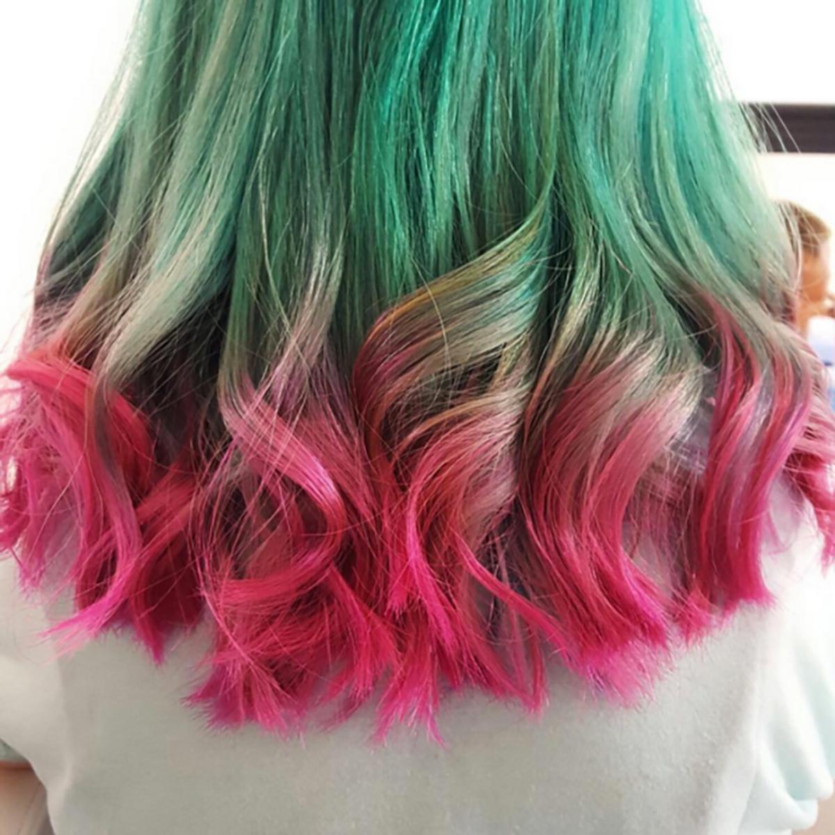 Watermelon Hair Is The Latest Hair Color Craze