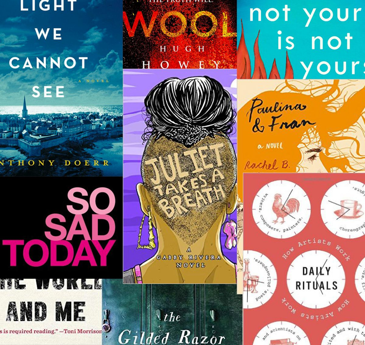 10 Books Our Editors Won't Shut Up About