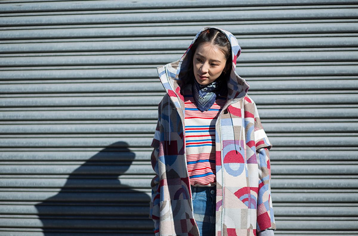 The Coolest Street Style Pattern Plays From NYFW, Day Four