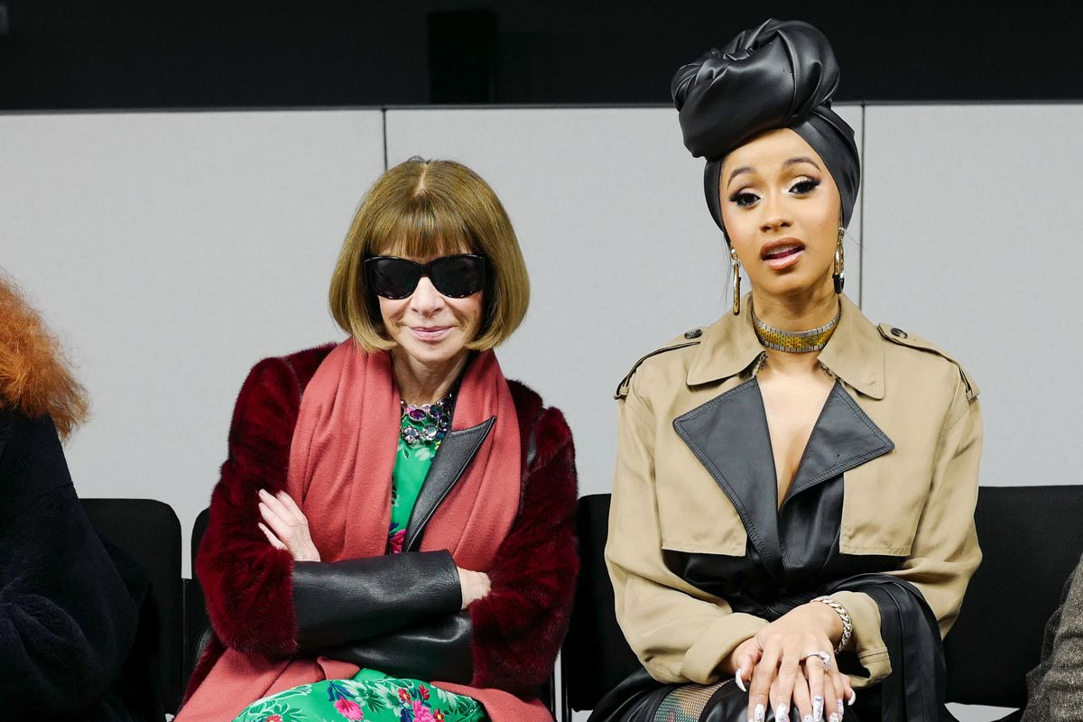Anna Wintour's Strangest Fashion Week +1's