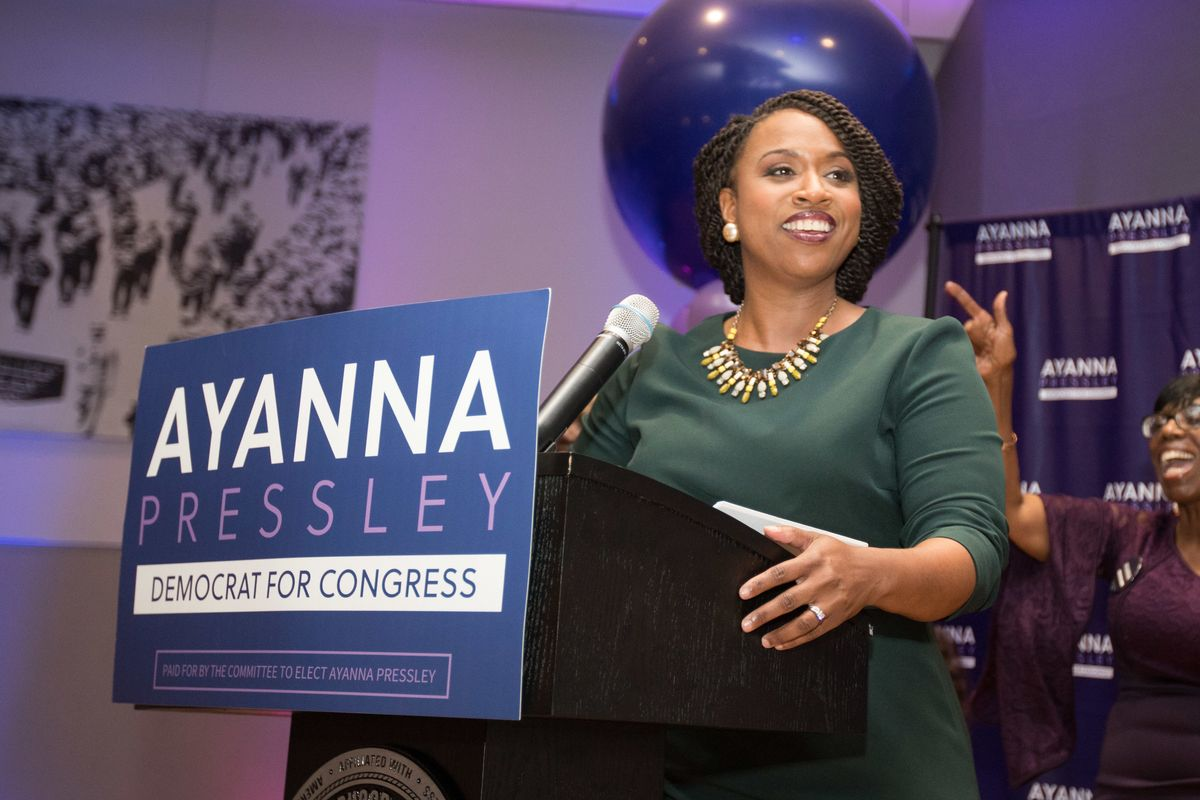 Ayanna Pressley May Be Massachusetts' First Black Congresswoman