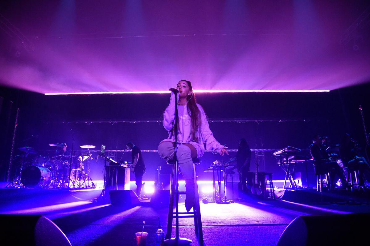Ariana Grande Flexes on Thundercat Cover