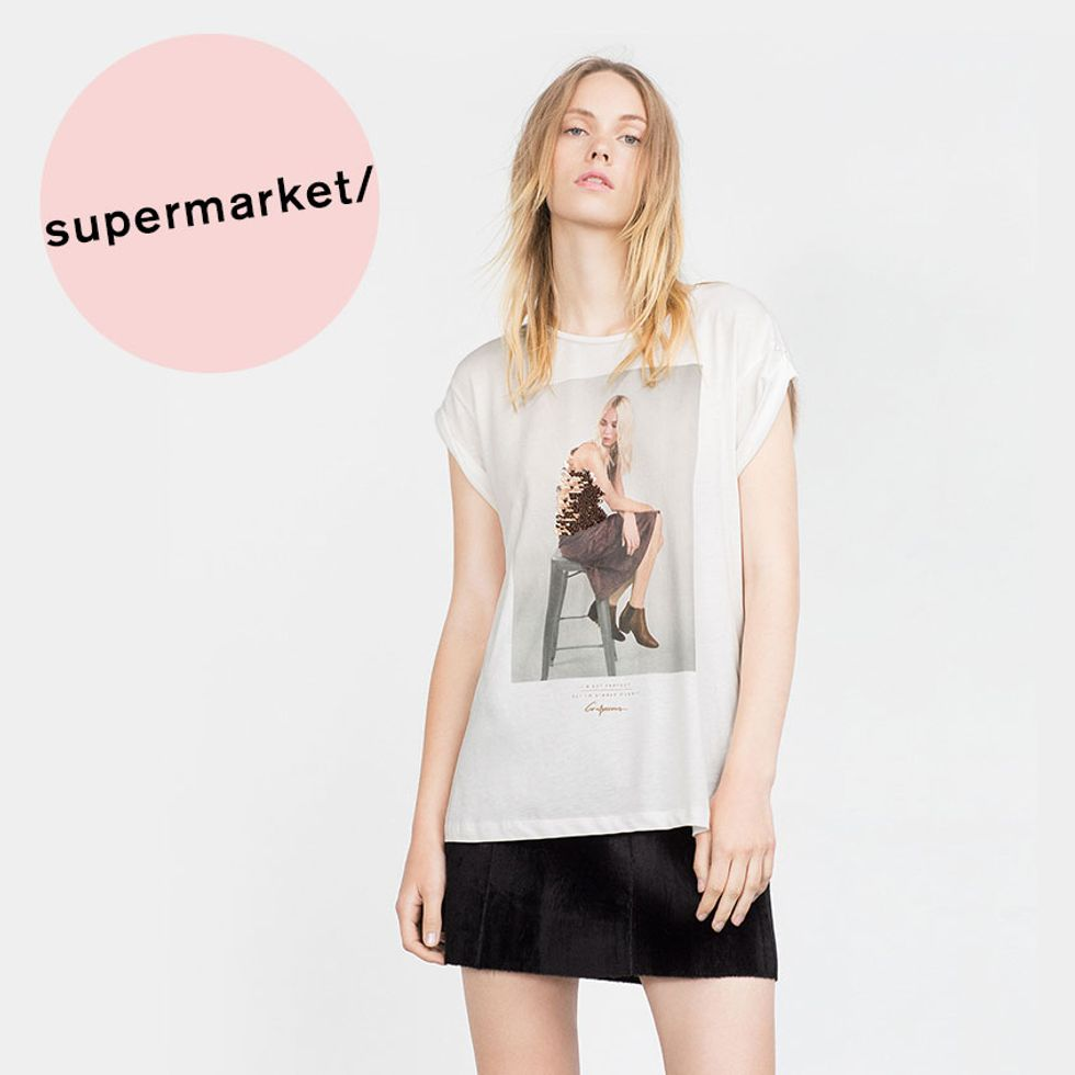 Sequined Graphic T-Shirts