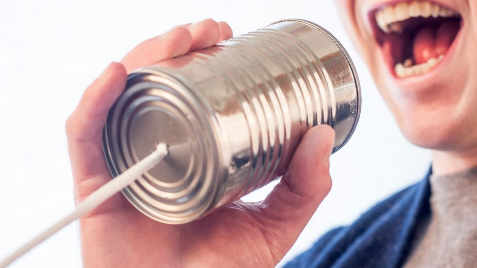 Don't Express Yourself – Communicate Instead
