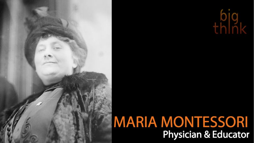 Maria Montessori: Education Needs to Be More Than Transmission of Knowledge