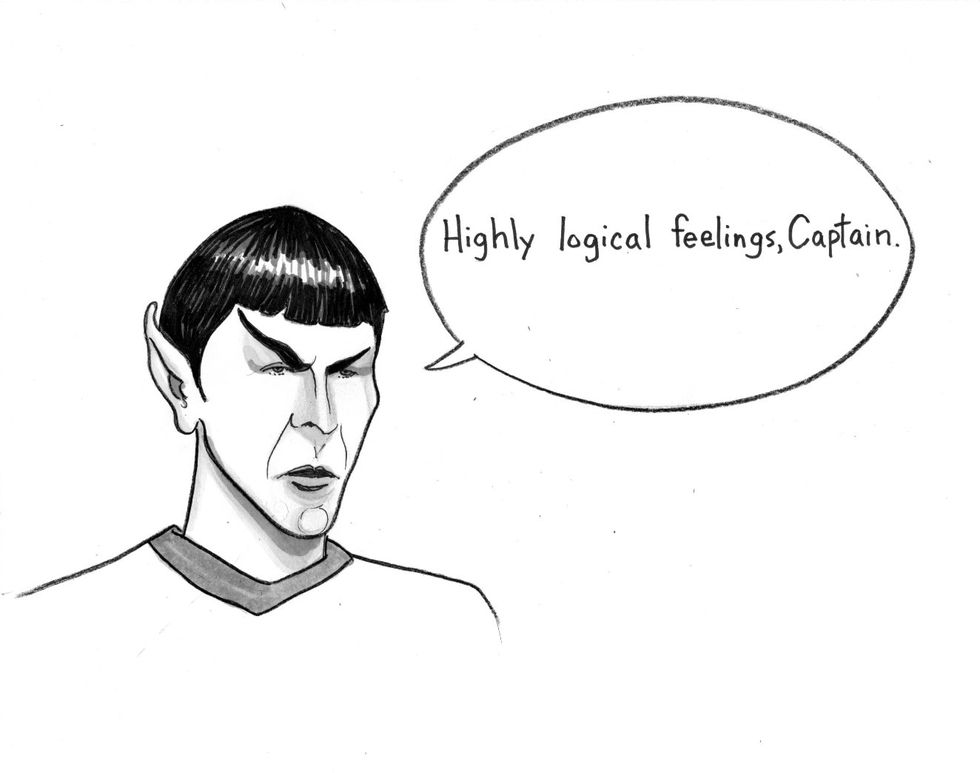 The Cognitive Science of Kirk and Spock