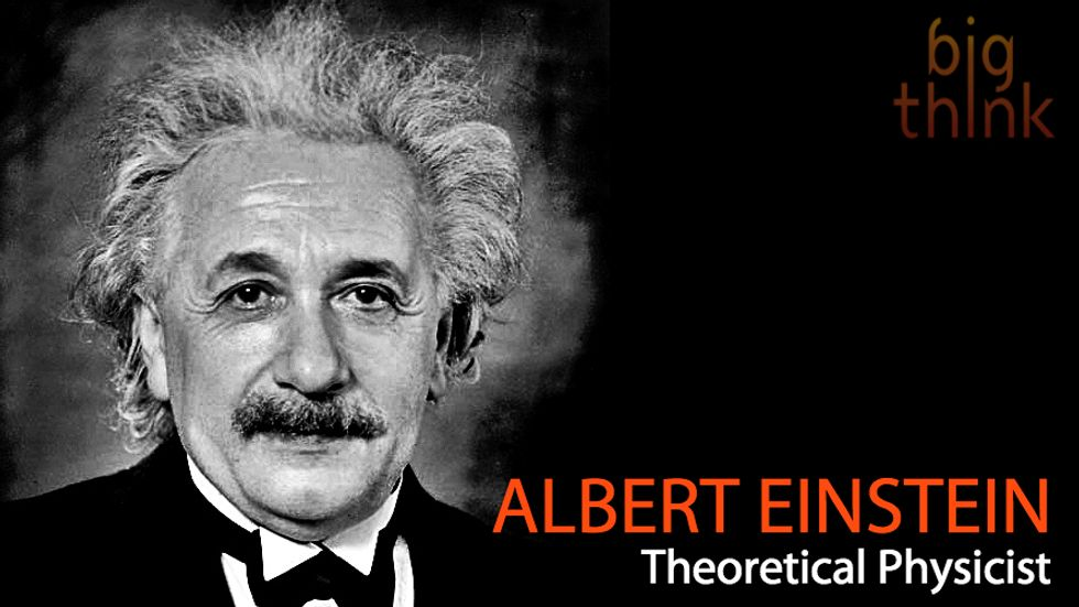 """Albert Einstein: """"Life Is Like Riding a Bicycle"""""""