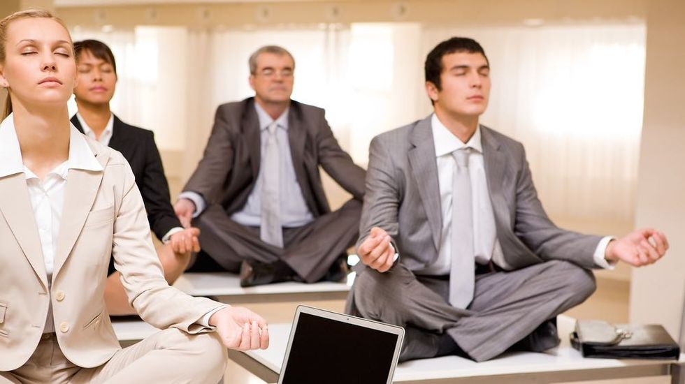 Corporate Meditation Can Promote a Workaholic Culture