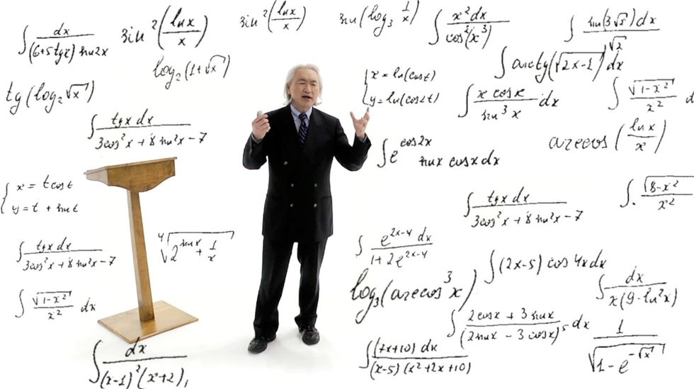 WATCH: A Universe in a Nutshell — The Physics of Everything, with Michio Kaku