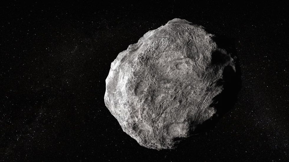 One Mined Asteroid Would Eclipse Britain's Whole Economy