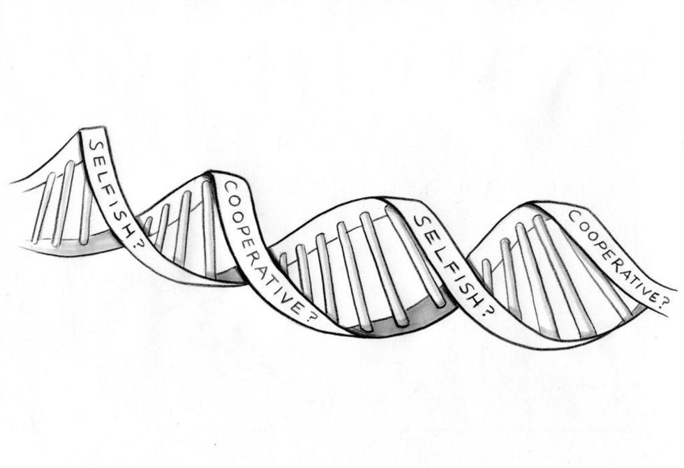 Every Selfish Gene Must Also Cooperate
