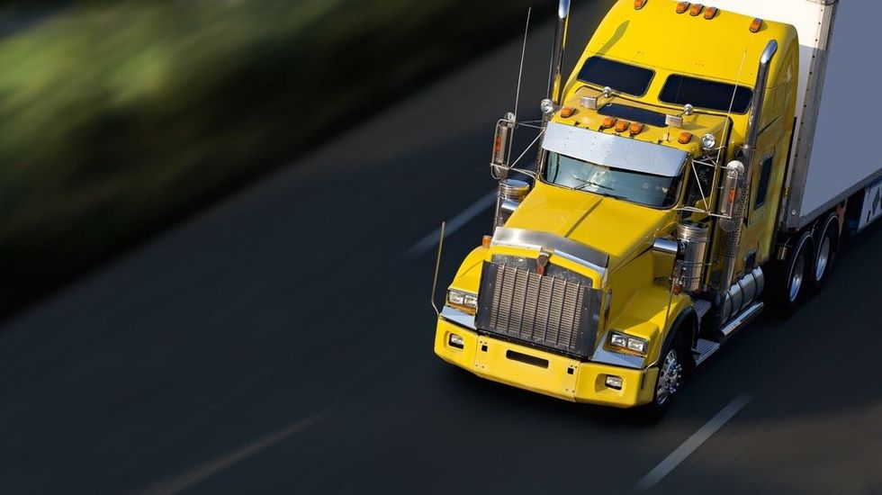 Self-Driving Semi Truck Licensed to Drive in Nevada