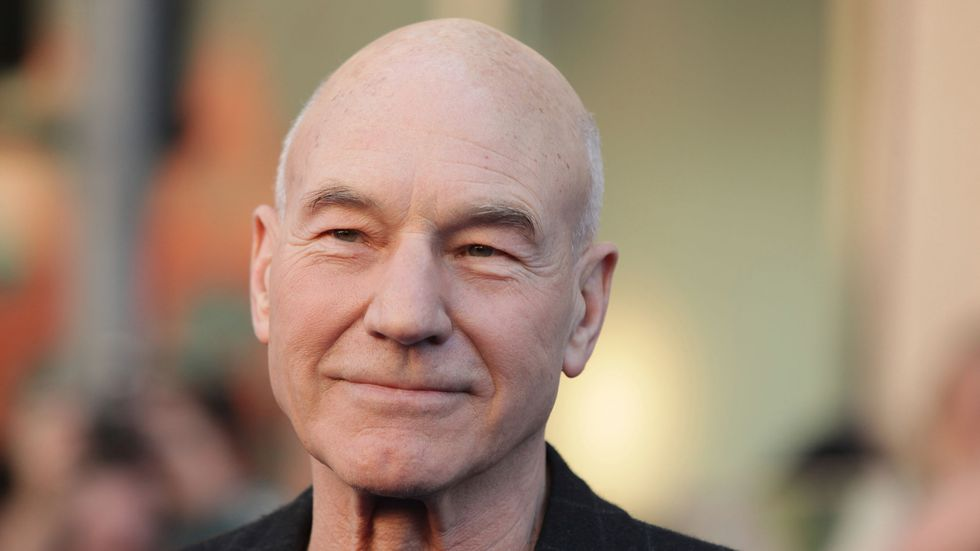 Patrick Stewart, Gay Marriage, and Cake: What More Do You Need?