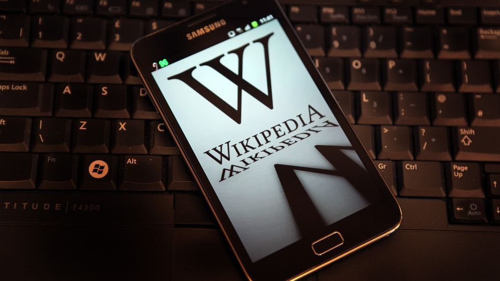 Using Wikipedia to Automatically Fact-Check the Internet