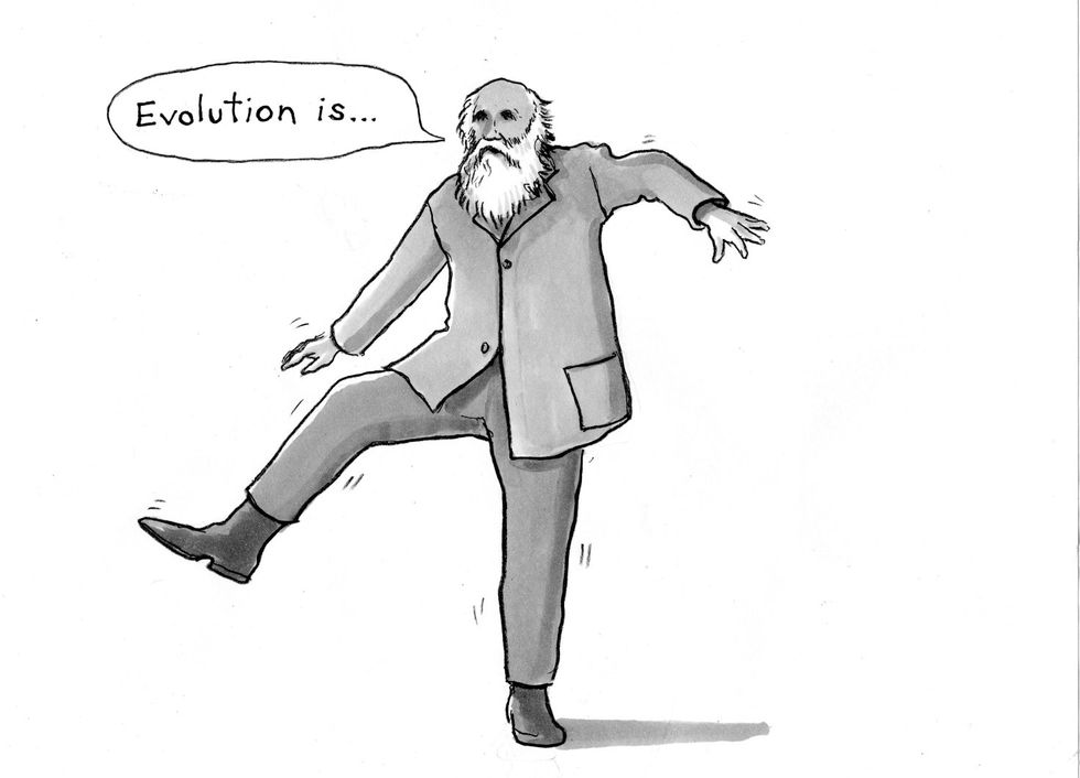 Have You Been Wrong-Footed By Evolution? A Diablog.