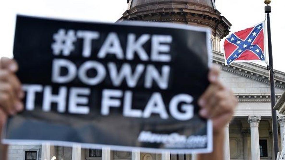 Shaming South Carolina to Remove the Confederate Flag