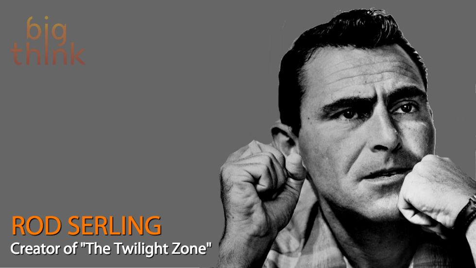 'The Twilight Zone's' Rod Serling on the Difference Between Science Fiction and Fantasy