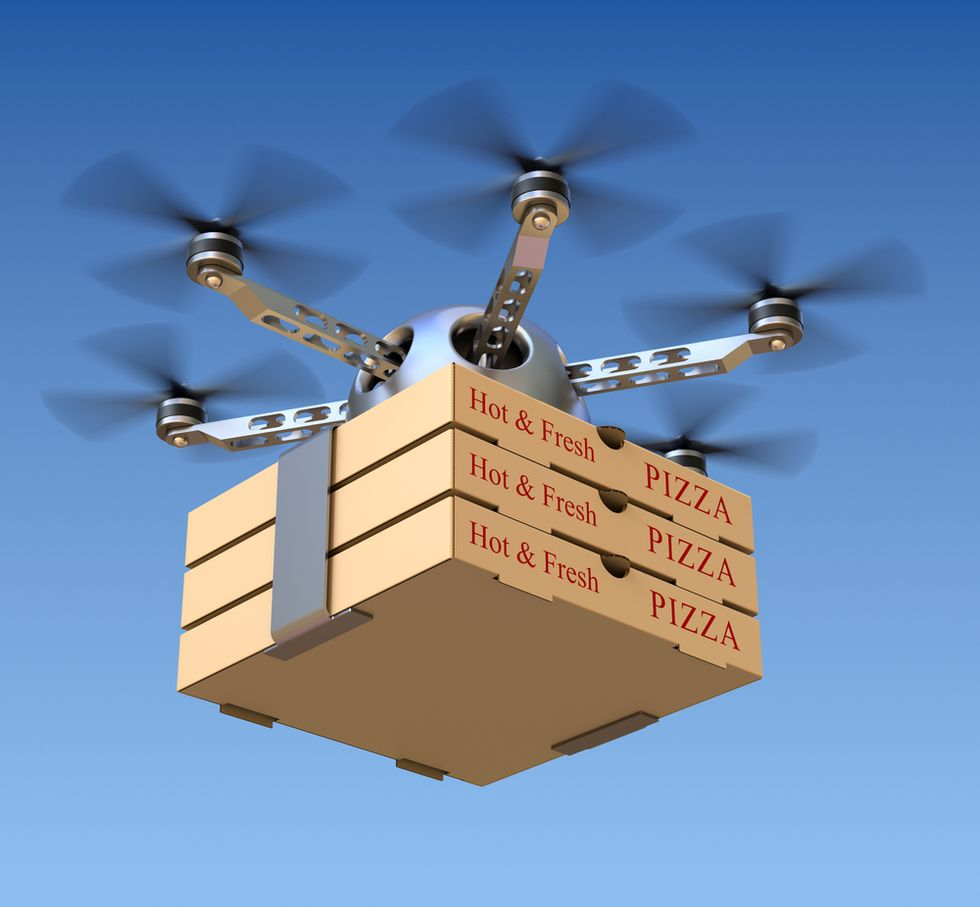 From Meals-on-Wheels to Dinner-by-Drone
