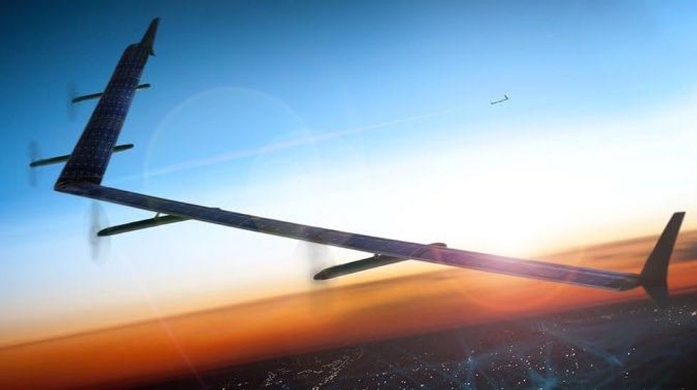 Facebook Ready to Test Solar-Powered Drone that Delivers Internet