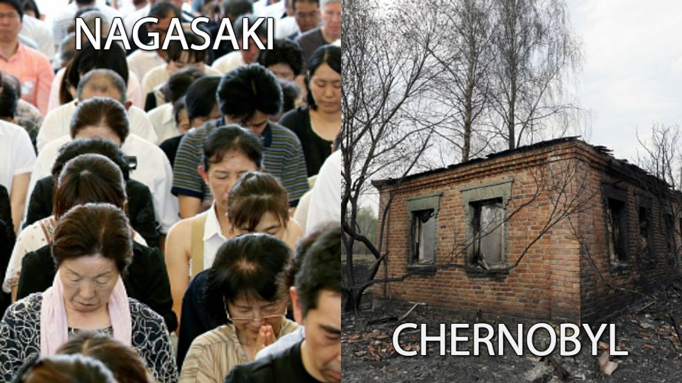 Why Is Nagasaki Thriving While Chernobyl Remains Abandoned?