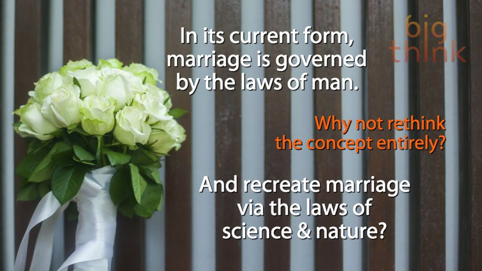 Genius or Crazy? Get Married By the Laws of Physics.