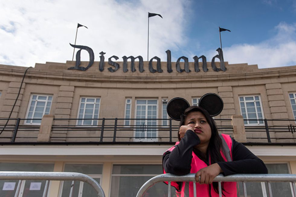Banksy's Dismaland: Here's What Is Not to Love About It