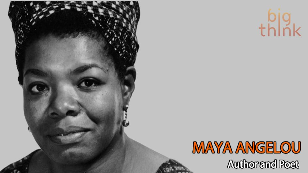 Maya Angelou: Courage is the Most Important Virtue