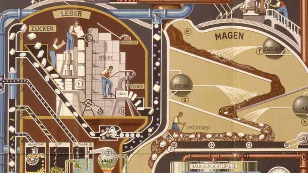 A Map of the Menschmaschine