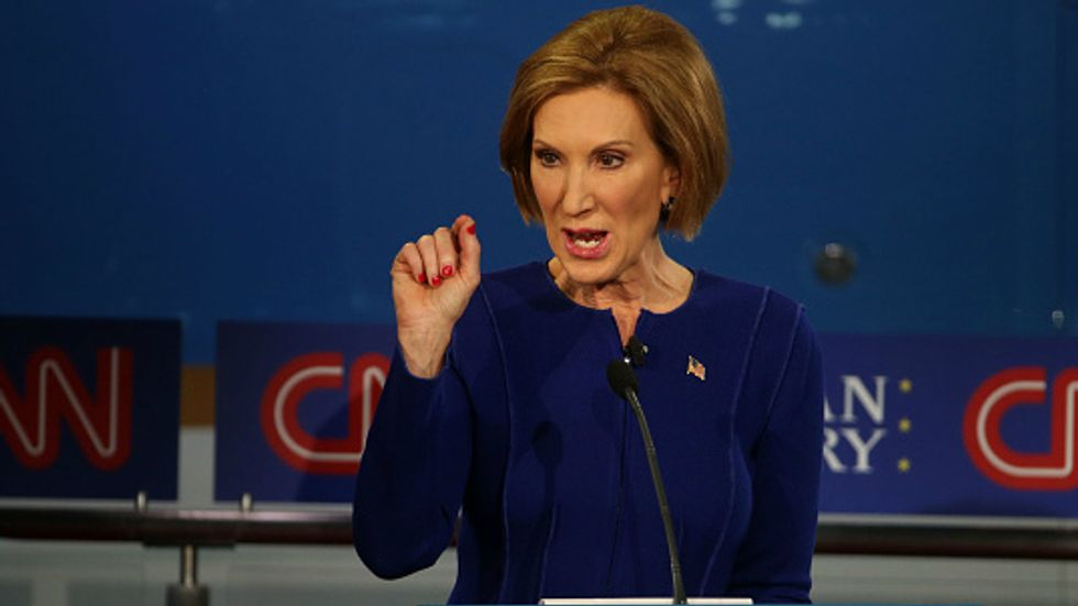 Confessions of a Liberal Lady Who Likes Fiorina (Sort Of)