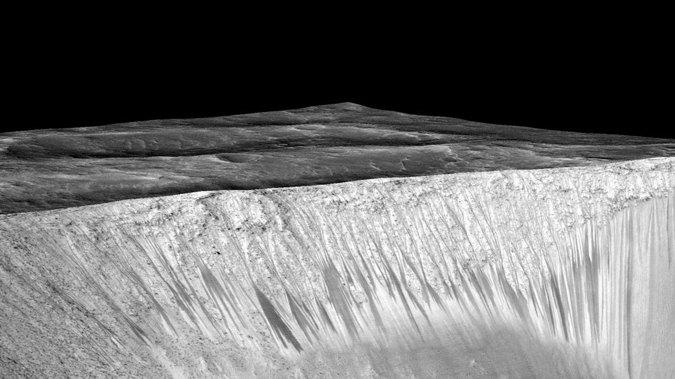 There's Water on Mars. We'll Harvest Oxygen From It.