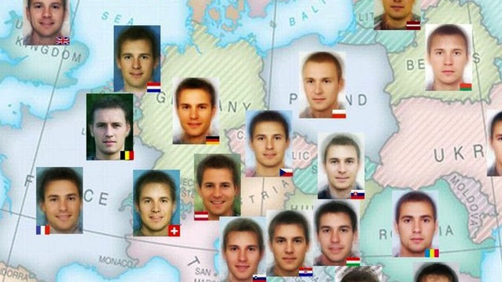 What the 'Ideal' European Man Looks Like, Country by Country