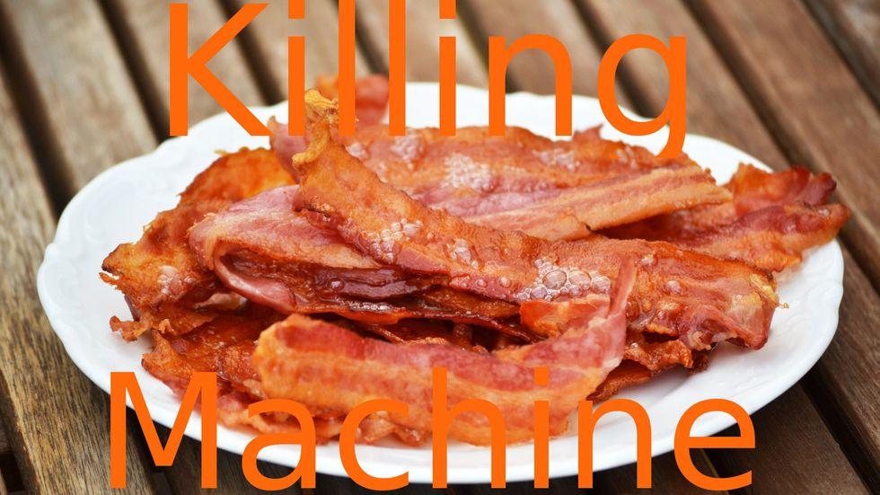 Bacon Declared a Carcinogen, World Mourns