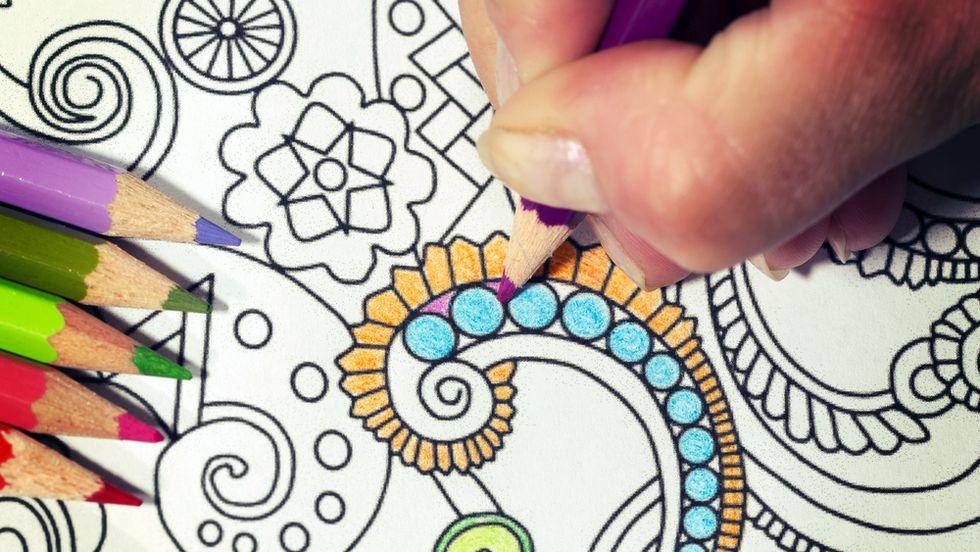 How Adult Coloring Books Can Bring Out the Artist in You