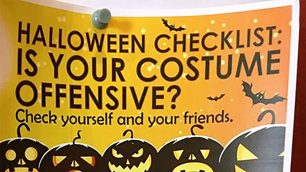 A Liberal College Wants Students to Watch What They Wear on Halloween